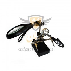 5LED Auxiliary Clip Magnifier